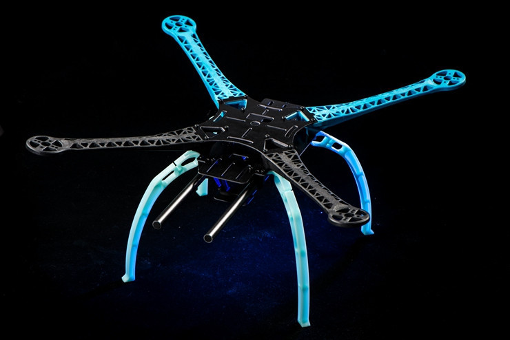 FPV S500 SK500 500mm GF Version Upgrade F550 Quadcopter Frame Kit With Landing Gear For FPV with Gopro Hero 3<br>