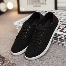 White canvas shoes low to help the new white women shoes autumn fashionable canvas shoes b2(China)