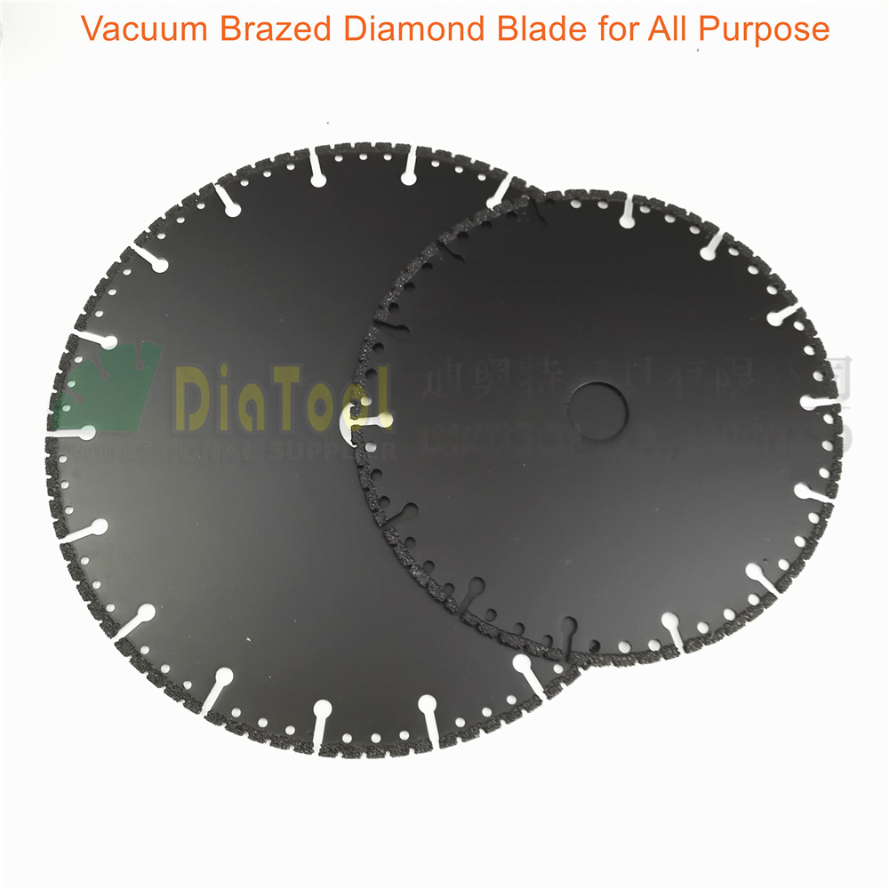 2pcs/set 7+ 9  Vacuum Brazed Diamond disc for multi Purpose 180mm and 230mm rescue demolition saw blade <br><br>Aliexpress
