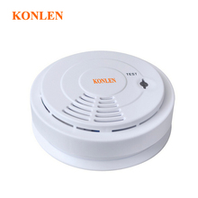 433 wireless smoke detector fire alarm linked with alarm system or standalone, detectors humo(Hong Kong)