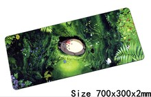 Totoro mouse pads 70x30cm pad to mouse notbook computer mousepad best gaming mousepad gamer to keyboard laptop mouse mat