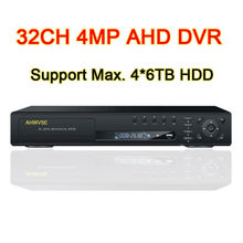 Buy 32CH 4MP 3MP 1080P AHD DVR Digital Video Recorder 32 Channel 4MP AHD Camera, Support Max. 4pcs 6TB HDD, Free for $580.79 in AliExpress store