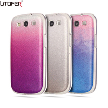 For Galaxy S3 Case Silicon Glitter Phone Cases For Samsung Galaxy S3 S III Duos i9300i S3 Neo i9301 Soft Cover Shiny Fundas Bags(China)