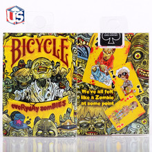 Bicycle Playing Cards Everyday Zombie Poker Art Magic Performance Deck Magic Tricks