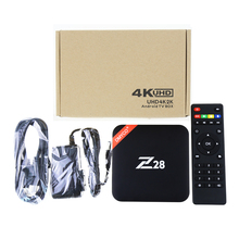DMYCO Z28 Android 7.1 smart TV Box 1GB/8GB 2GB/16GB Rockchip RK3328 Quad-core 2.4G Wifi Fully Loaded 4K HDMI mini Media Player