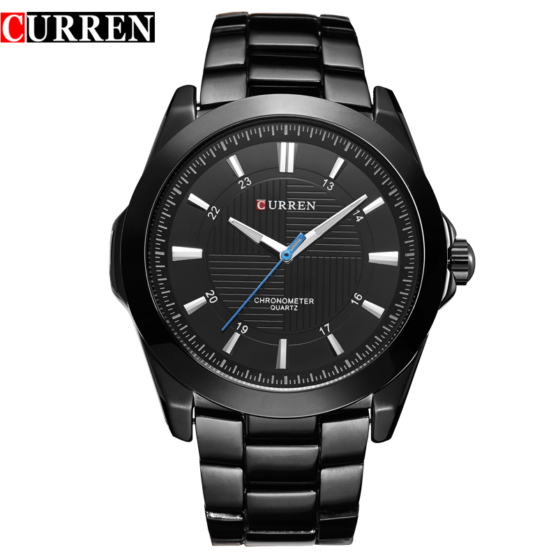 Relogio Masculino CURREN Watches Men Business quartz army Watch Top Brand Waterproof Male Stainless Steel Band Wristwatch 8109<br><br>Aliexpress