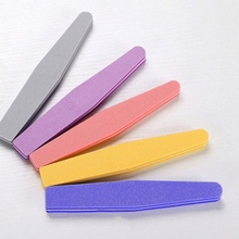 1Pc Professional Nail Files Buffer Buffing Sanding Block Nail Art Care Salon Shaper Manicure Pedicure Tool(China)