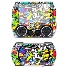 Bomb Vinyl Protector for Sony PSP GO skins Stickers for PSPGO Game Accessories for PSP GO(China)