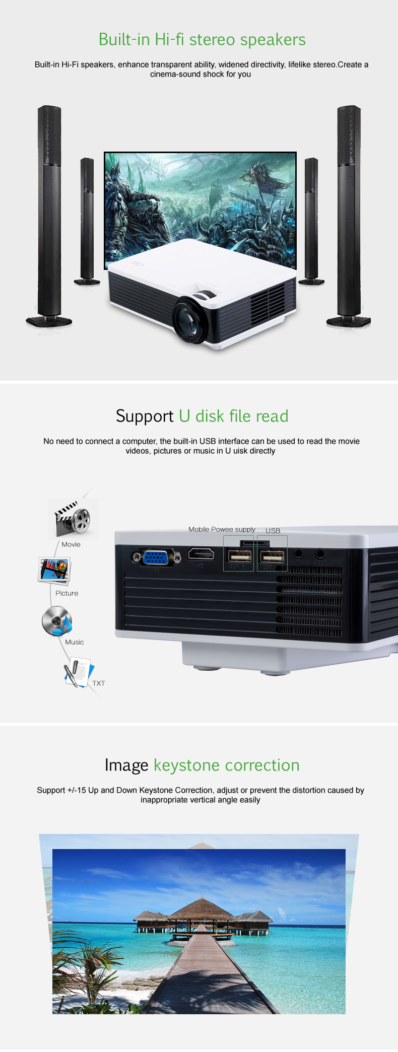 X1600 lcd projector