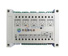 Smart Network 5 Port Relay Controller, 4 Digital 1 Analog input Ethernet Switch, TCP UDP IP Web Android, Temperature Control