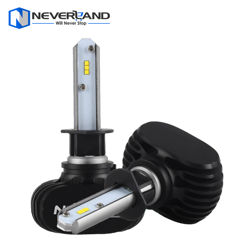 NEVERLAND H1 50W 8000LM 6500K CSP LED Car Headlight Conversion Kit Fog Lamp Bulb DRL Super White<br><br>Aliexpress