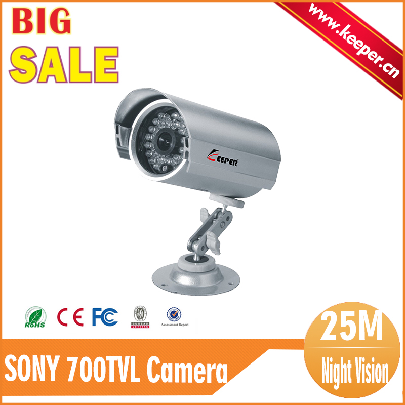 KEEPER Free Shipping Promotion 700tvl SONY CCD 30 leds IR Outdoor CCTV Bullet Security Camera IR Cut Night Vision Waterproof<br><br>Aliexpress