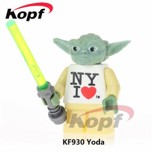 KF930 Singel Sale Star Wars Yoda (I Heart New York) Times Square 2013 Exclusive Education Action Figures For Children Gift Toys(China)