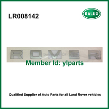 "LR008142 silver emblem cover front car sticker brand letters ""ROVER"" for Land Range Rover 2002-2009/2010- auto name plate supply"