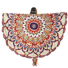 Table Cloth Round Beach Pool Home Shower Towel Blanket Table Cloth Yoga Mat Home textiles bedclothes C7719
