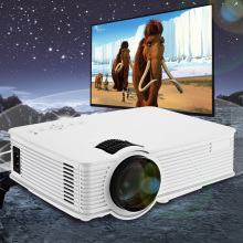 Mini Projector GP - 9 Home Theater 2000 Lumens 1920 x 1080 Pixels Multimedia Wireless HD LCD Projector HDMI/USB/SD/AV/3.5mm