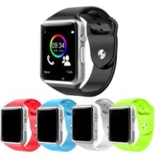Touch Screen Bluetooth Smart Watch SIM TF Slot Sport Pedometer Camera For Android iphone PK GT08 U8 M26 WristWatch Call Reminder