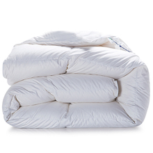 Winter Duck/Goose Down filler quilted Quilt king queen twin full size Comforter/Blanket/Doona/Duvet white/pink color 100% Cotton