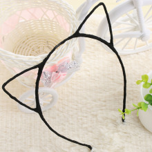 1PC Hot Sale!!! New Stylish Simple Girls Cute Cat Ears Headband Kid Cat Hairband Sexy Head Band Self Photo Prop 5 Colors