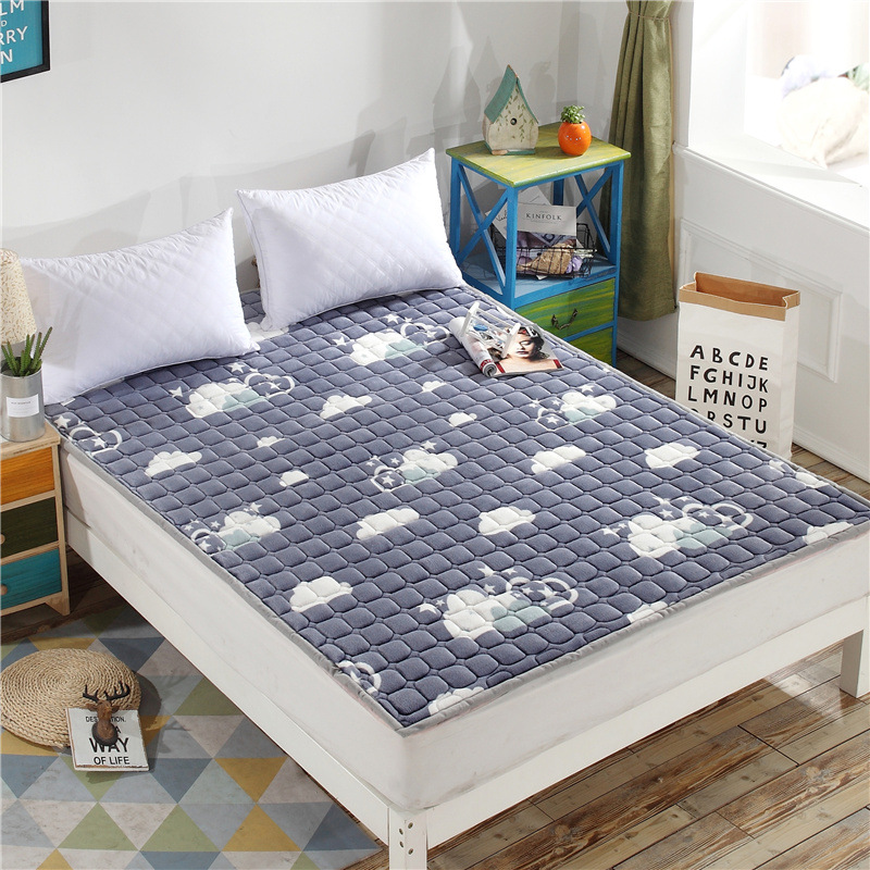 Charmant Bed Mattress Pad Sheets Double/Single Bed Cushion Tatami Mattress Topper  Soft Comfortable Breathable
