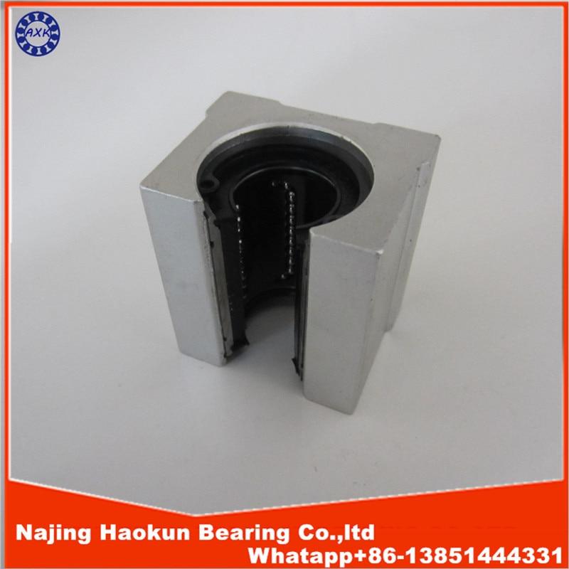 SBR20UU aluminum block 20mm Linear motion ball bearing slide block match use SBR20 20mm linear guide rail 1pcs<br><br>Aliexpress