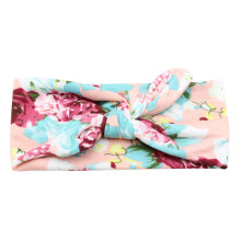 2017 kids girl headband lovely flower Print bow Knot Cross Headband for girl Hair Accessories super quality diademas pelo bands#
