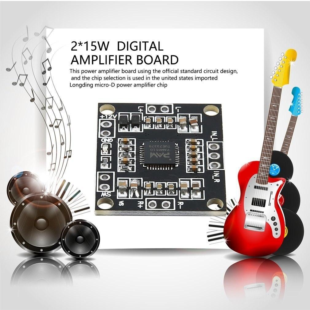 Aiyima 5pc 8002 Mono Amplifier Board 3w Mini Audio Module Sub 150w 8ohm Subwoofer Circuit 35 150hz 2sa1943 Pam8610 Class D Digital Power 2 X15w Dual Channel Stereo