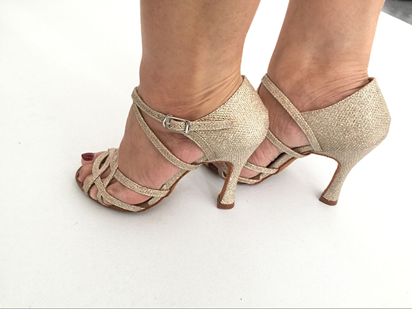 Suphini dance shoes Gold 713-2