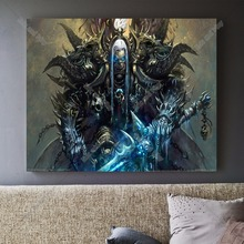 World Of Warcraft Painting Canvas Art Print Painting Poster Wall Pictures For Room Home Decoration Wall Decor No Frame