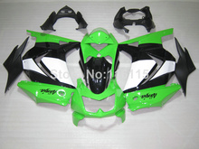 100% new fairing kit for Kawasaki Ninja fairings 250r 2008 2009- 2014 injection molding EX250 08-14 green white black ZX250 NZ25