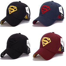 Superman Cap Baseball Trucker New Fashion Superhero DC Comics Golf Adjustable Sports Hats