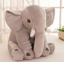 Boys Girls Kids Sleeping Toys Elephant Plush Animal Baby Pillow Playmate Infantil Calm Stuffed Doll Newborn Infant Cushion Mat