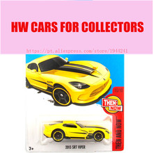 2017 Hot Wheels 1:64 Yellow 2013 SRT Viper Metal Diecast Cars Collection Kids Toys Vehicle For Children Juguetes(China)