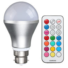 10W 38 LED Light Bulb E27 / B22 RGBW 2835/5050 SMD Energy Saving Lamp Globe Bulb Color Changing With Remote Control AC 85-265V(China)