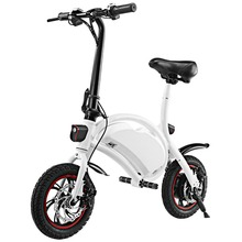ANCHEER 36V 4.4AH US Plug New Electric bike GPS Aluminum Folding Black Electric Bike Portable Electric Bicycle(China)