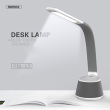 Remax RBL- L3 LED Touch Buttons Table Lamp Bluetooth Speaker Audio Player Sound Box Bluetooth V4.0 Eye Protect LED Desk Lamp(China)