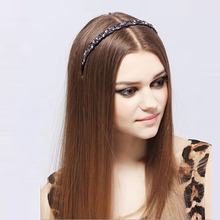 New rhinestone Hair Accessories Shop wholesale Cellulose Acetate Luxury Hair Band for Women wedding Jewelry gift Free Shipping