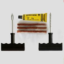 6 Pcs/Set Car Tyre Repair Kit Twist Drill Jack Drill Rubber Strips Adhesive Glue super practice car repair tool