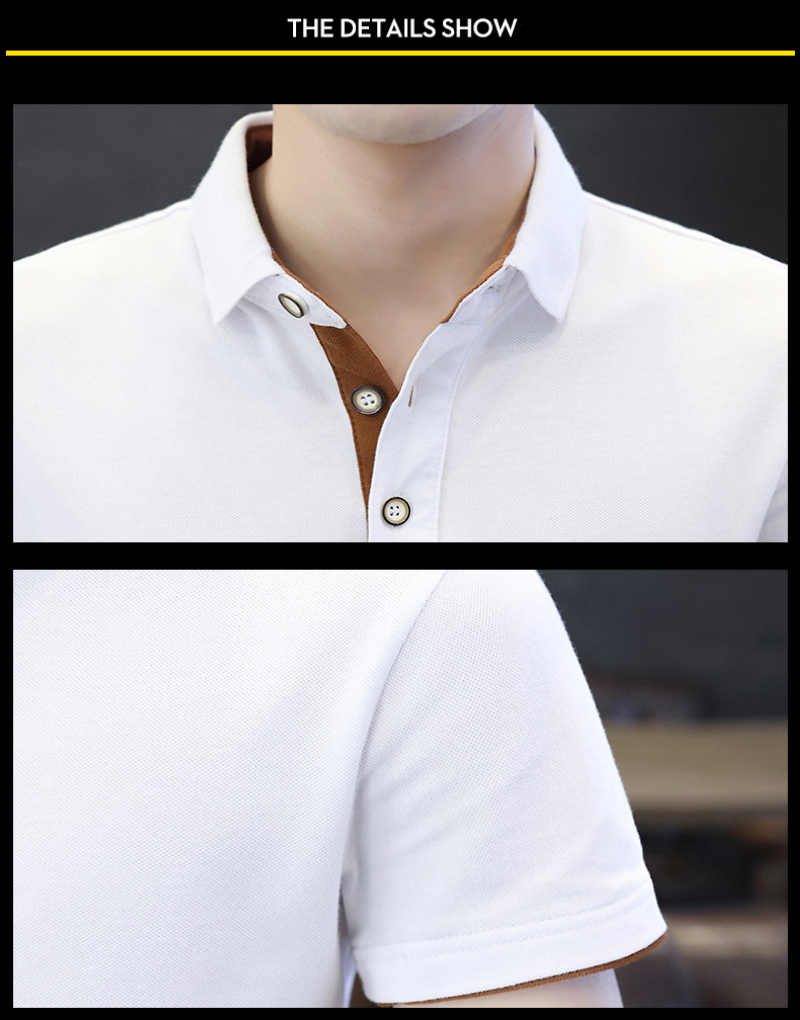 SD Polo Shirts Men 2018 New Arrivals Casual Male Polo Shirts Breathable Cotton Tops High Quality Solid camisa Polos Homme 413 13