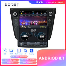Android 8.1 Tesla style DVD multimedia player GPS navigation for Nissan X-TRAIL/Qashqai/Rouge 2013+ Auto stereo player Head unit(China)