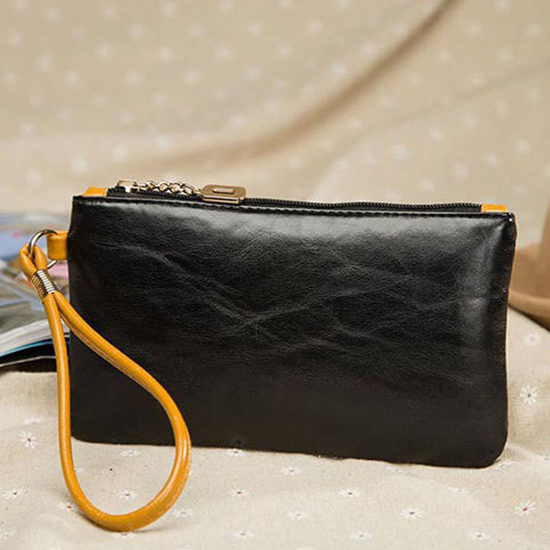 2017 Brand Design Oil &amp; wax PU leather famale long design wallet womens Quality purse Clutch wallets carteira feminina<br><br>Aliexpress