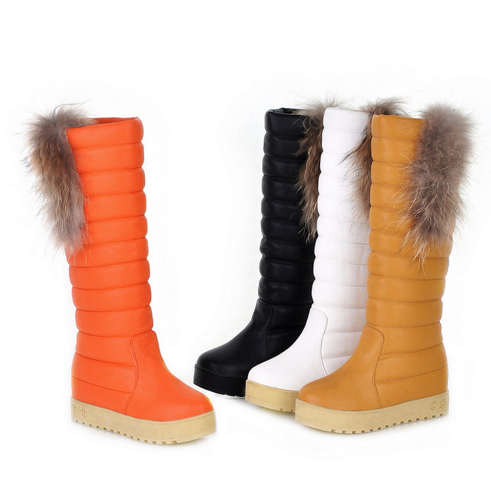 real australia brand Snow boots 2016 new flat-bottomed womens boots thicker warm high boots<br><br>Aliexpress