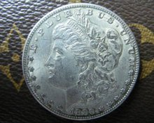 1880-CC morgan dollar silver coin(China)