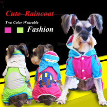 Breathable Wearable Raincoat For A Dog Cute XS XL Little Small Medium Breeds Animals Waterproof Coveralls Pet Cat Clothing Goods