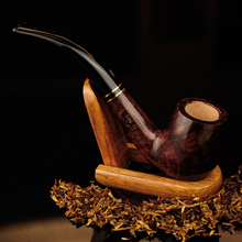 High quality 100% Briar smoking pipe tobacco wooden pipe 11 In 1
