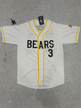 Bad News Bears Baseball Jersey Kelly Leak #3 Let Freedom Ring Embroidery Stitched High Quality Men's Jersey(China)