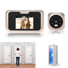 3.0 Inch Smart Door Viewer LCD Digtial Peephole Camera Video Recorder Night Vision Angle View Music Doorbell