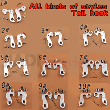 Bicycle Rear Derailleur Tail Hook Aluminum Alloy Mountain Bike Road Bike Fixed Gear Foldable Bicycle All Kinds Of Tail Hook