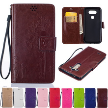 For LG Phone Flip Leather Cover Case For Coque LG G3 G4 G5 Leon 4G LTE K4 K7 K8 K10 G4 Stylus Fundas Coque Carcasas Etui(China)