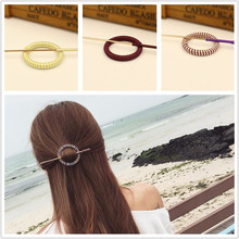 Buy Stylish 1 Set Women Infinity Barrette Hairpin Hair Clip Hair accessories Headband Perfect Gift lady Hair Sticks Headwear for $1.50 in AliExpress store
